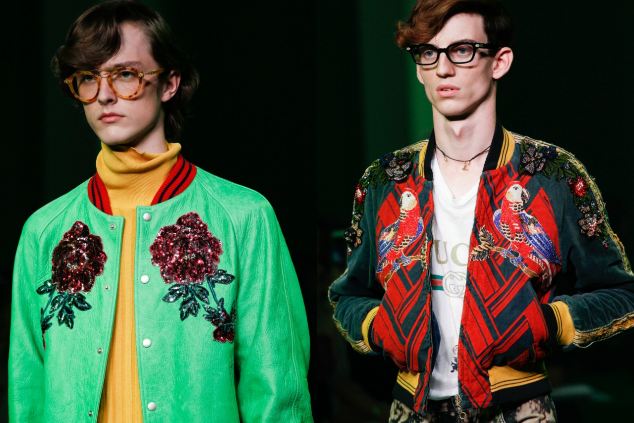 The 5 Things We D Steal From The Gucci Ss17 Men S Show