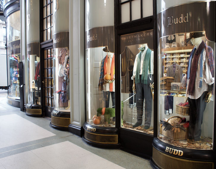 Budd Shirtmakers, 3, Picadilly Arcade
