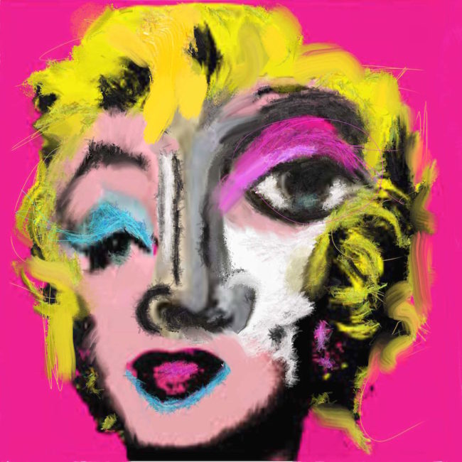 Hello Marilyn © Jean Paul Fauves
